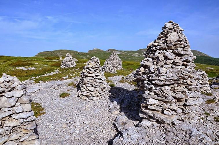 Le Puy de la Gagère par Font d'Urle