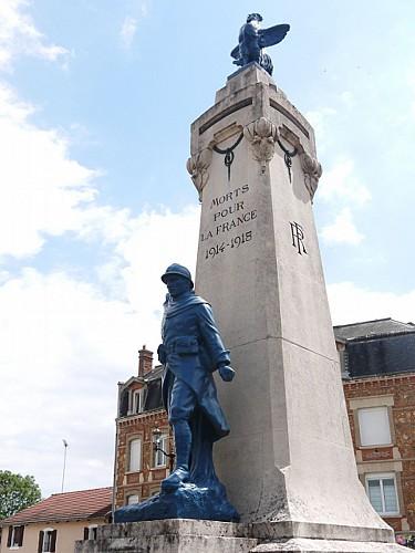 Parcours de Mémoire 14-18 de Vitry-le-François