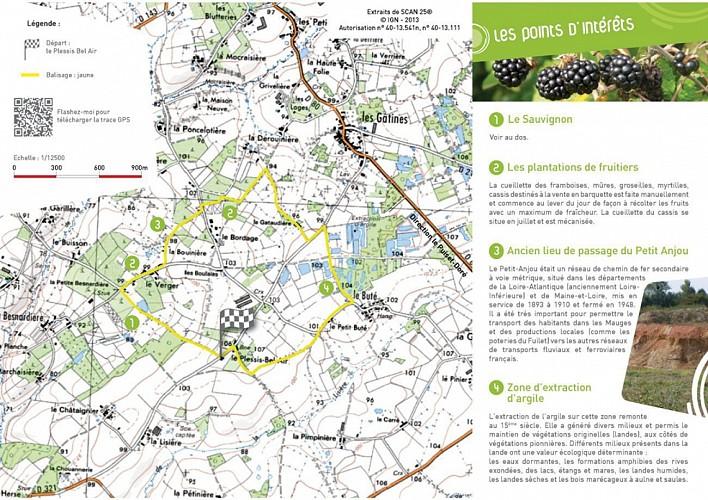 Randonnée Une autre Loire : Les hauts du Doré au Puiset-Doré