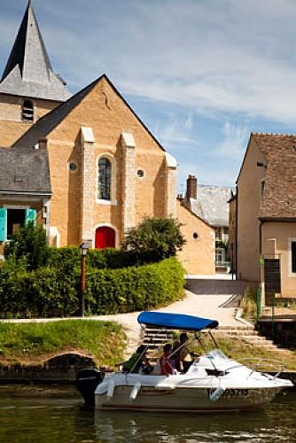 Malicorne-sur-Sarthe - Chemin de la Maussidée