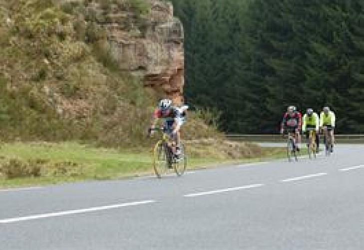 Le col du Donon à Vélo - Pays des 2 Sarres
