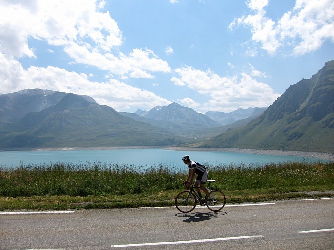 Lake of Mont-Cenis