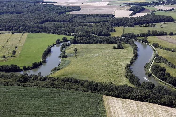 Circuit fluvial de Corre à Mantoche - Vesoul-Val de Saône