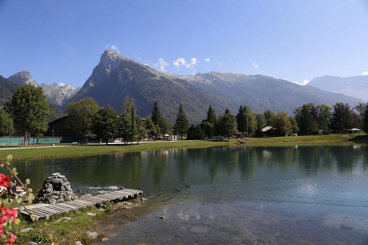 Balade des Lacs aux Dames au Lac Bleu à Morillon