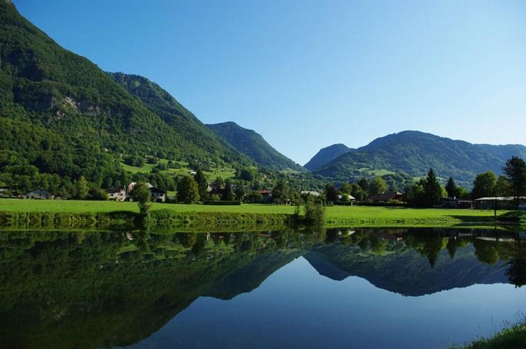 Circuit du lac de Flérier et des villages