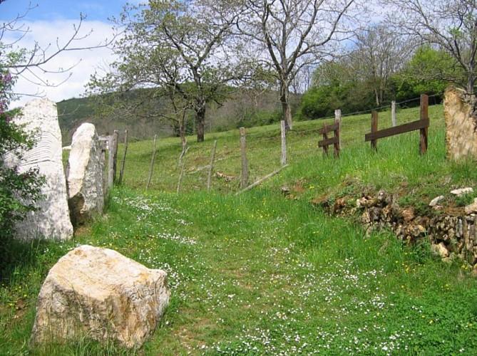 Sentier mémoire de pierre