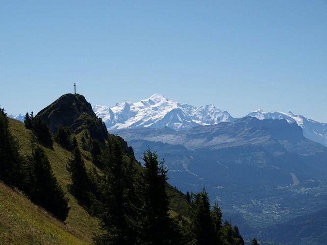 Pic de Marcelly depuis Roche-Pallud