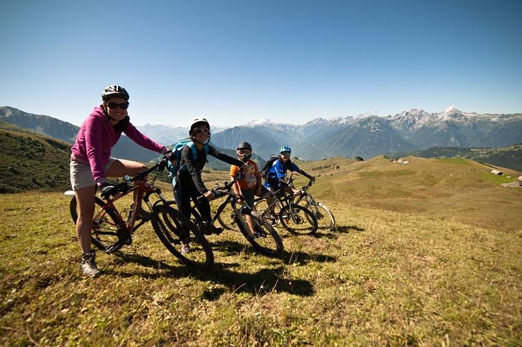 """Mountain bike tour n°2: """"La Route des Fermes"""" Route"""