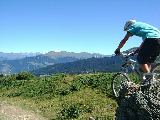 Tougnète's circuit - Mountain biking