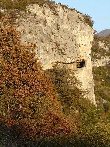 Route falaise de Presles