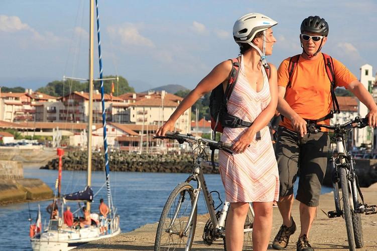 La Vélodyssée - De Biarritz à St Jean de Luz