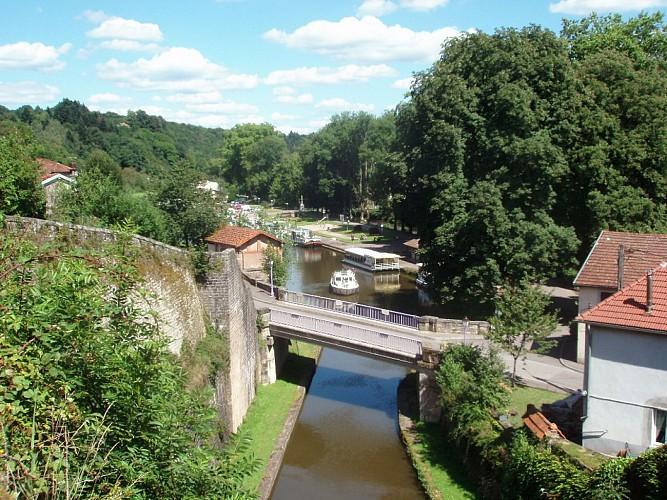 Circuit fluvial de Fontenoy-le-Château vers Corre - Vesoul-Val de Saône
