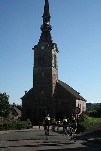 Itinéraire cyclable V50/Luxeuil-les-Bains/EV6/Vesoul-Val de Saône/Vosges du sud