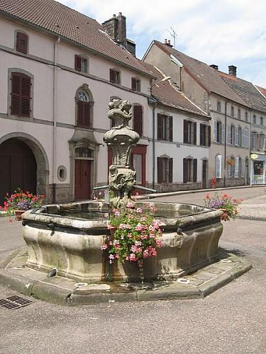 Itinéraire cyclable V50 : Luxeuil-les-Bains - Voie Verte des Hautes Vosges - Vosges du sud