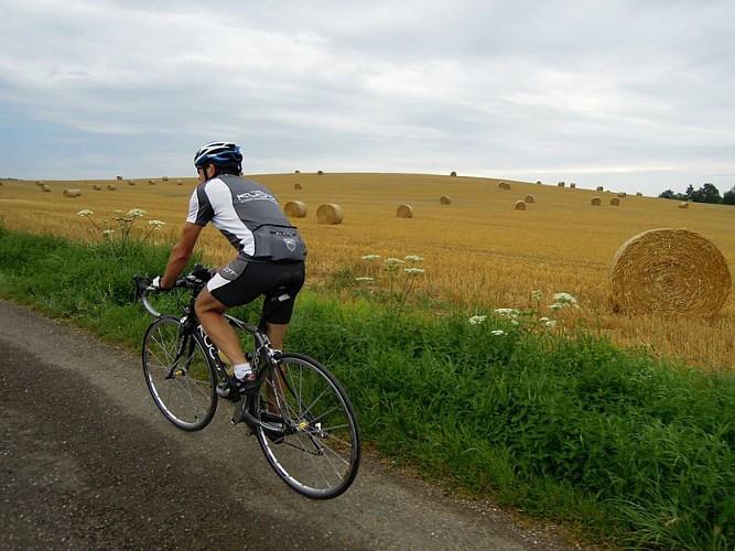 Itinéraire cyclable EV6-Vesoul-V50 - Vallée de l'Ognon/Vesoul-Val de Saône