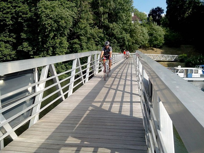 Itinéraire cyclable La Trace du Courlis - Vesoul-Val de Saône