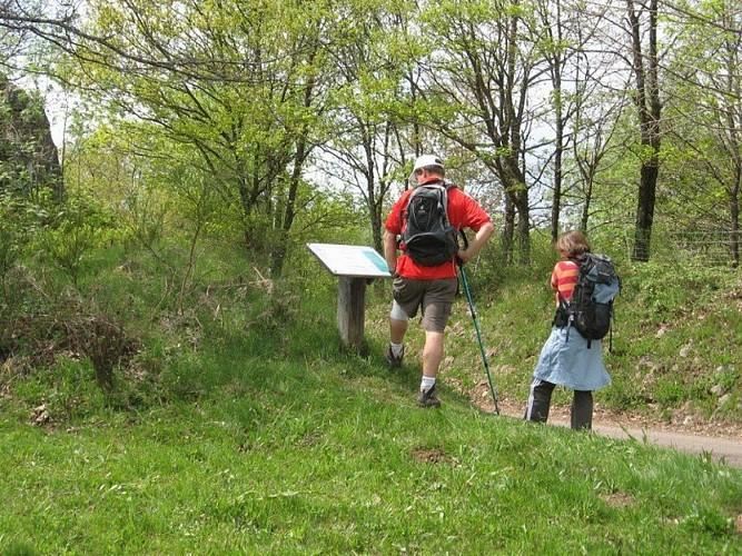 """Randonnée itinérante """"Etape de Melay à Esmoulières"""" - Vosges du sud"""