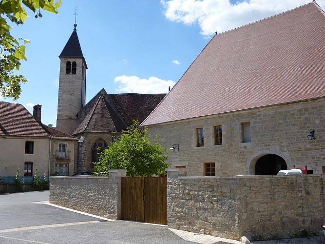 """Circuit pédestre """"La balade marnaysienne"""" - Vallée de l'Ognon"""