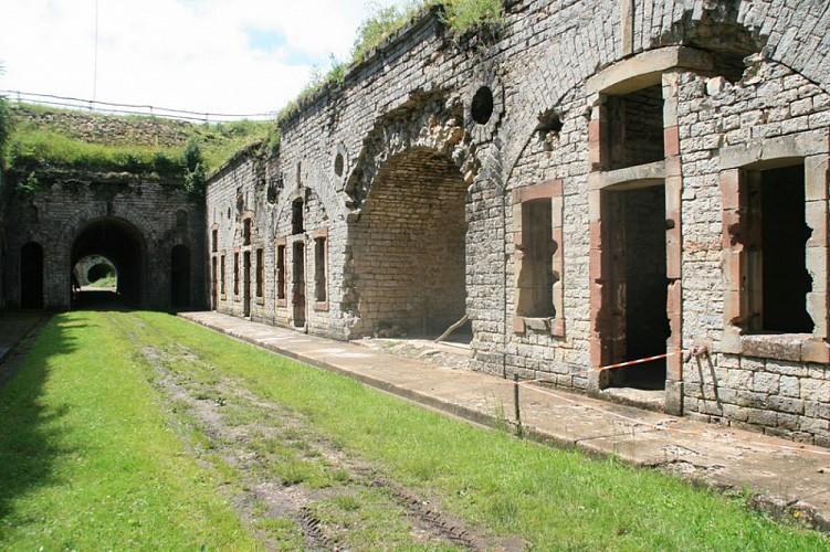 """Circuit pédestre """"Le fort Broussier"""" - Héricourt - Vosges du sud"""