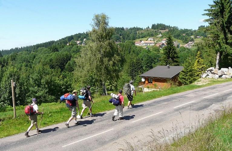 """Circuit pédestre """"Le tour de Belfahy"""" - Vosges du sud"""