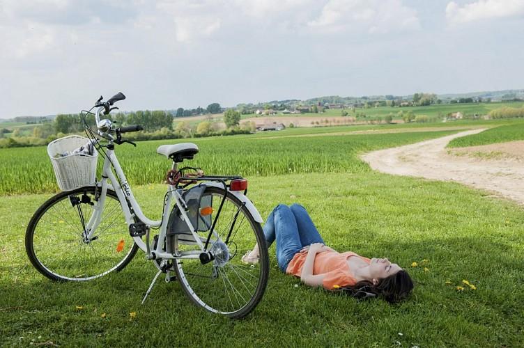 La Wapi à vélo : Entre monts et moulins dans le PAYS DES COLLINES / Hainaut