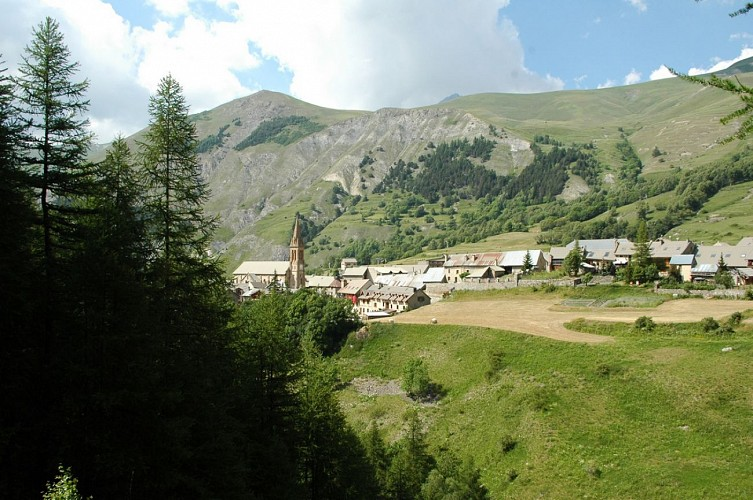 Village de Villar d'Arène