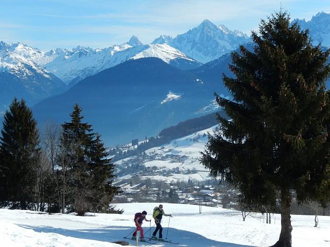 Itinéraire ski de randonnée