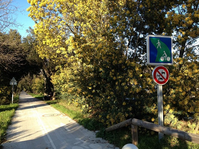 Piste Cyclable La Croix Valmer - Saint Tropez