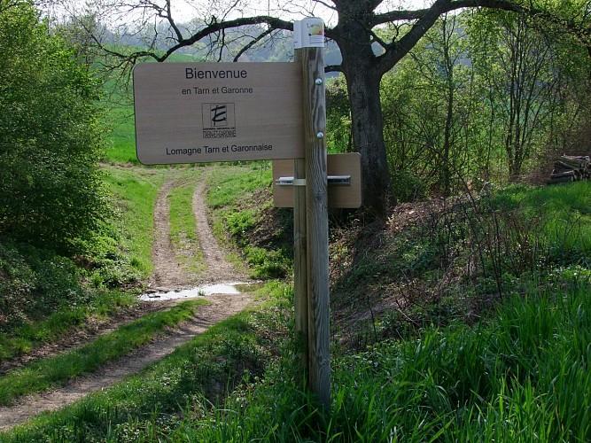 Lomagne PR10 - Camin des Mercats