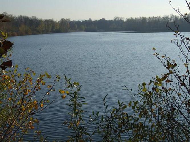 le lac etoile sur rhone drome