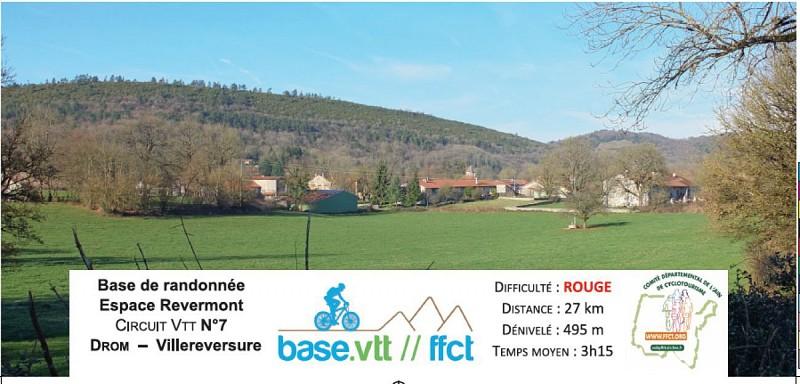 Circuit VTT n°7 - Drom Villereversure
