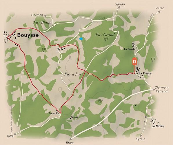 Bouysse et autres villages