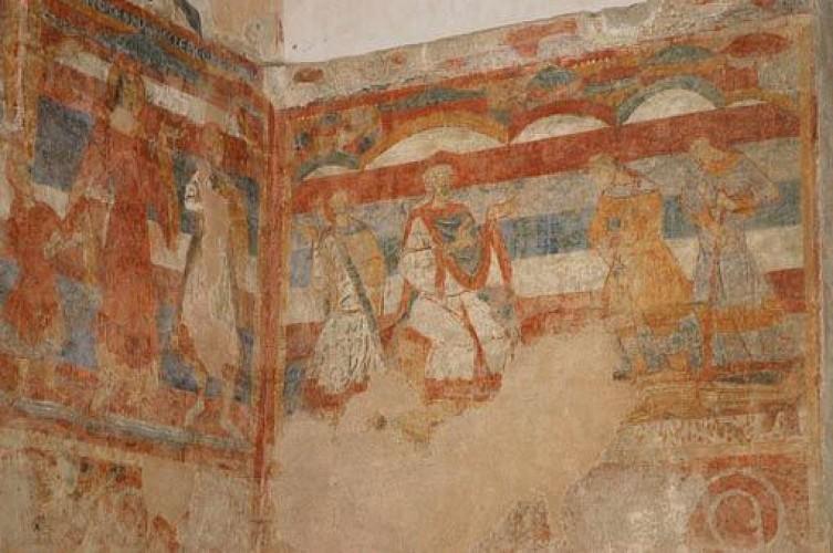 Circuit des dévotions, fresques et patrimoine. Commune Les Salles Lavauguyon