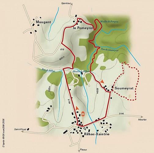 Entre Auvergne et Limousin