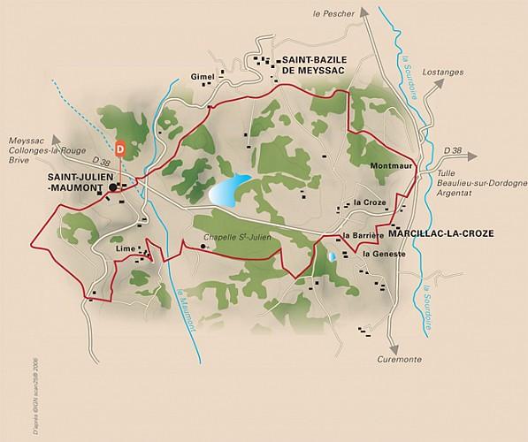 Entre Maumont et Sourdoire