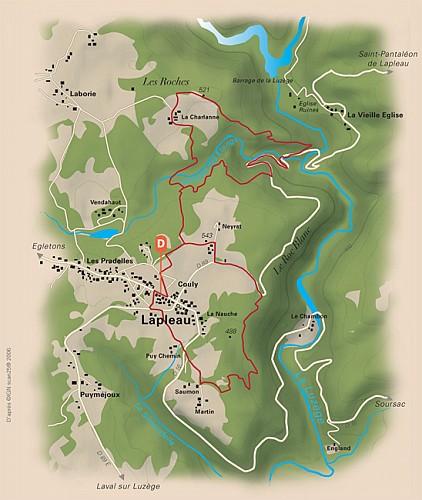 La cascade de Neyrat