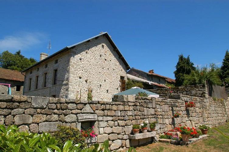 chemin des moines de grandmont en Limousin