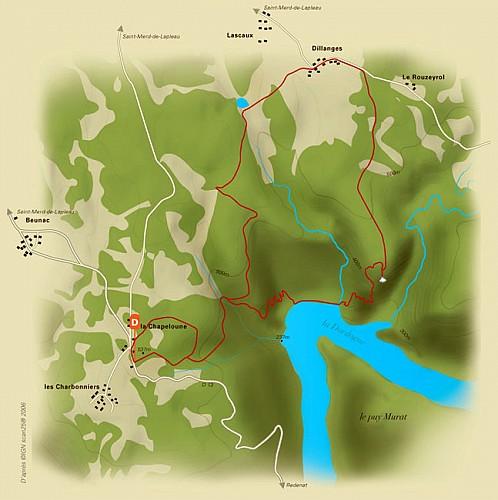Les gorges de la Dordogne
