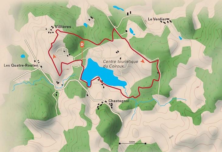 Parcours nature du Coiroux