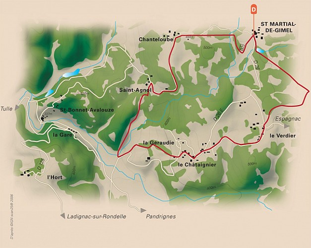 Sentier de Saint-Agnol