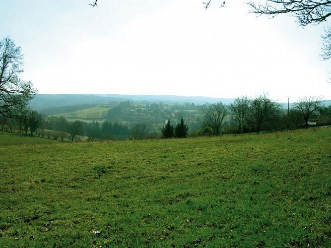 Sentier Puy du Thé - piste 4