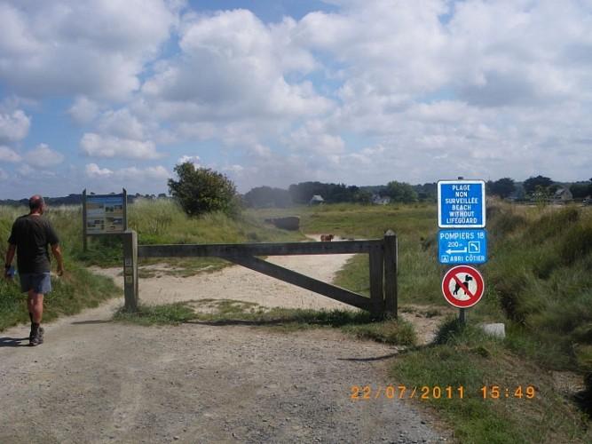 Le Tour de L'ile Grande au alentours de Pleumeur Bodou