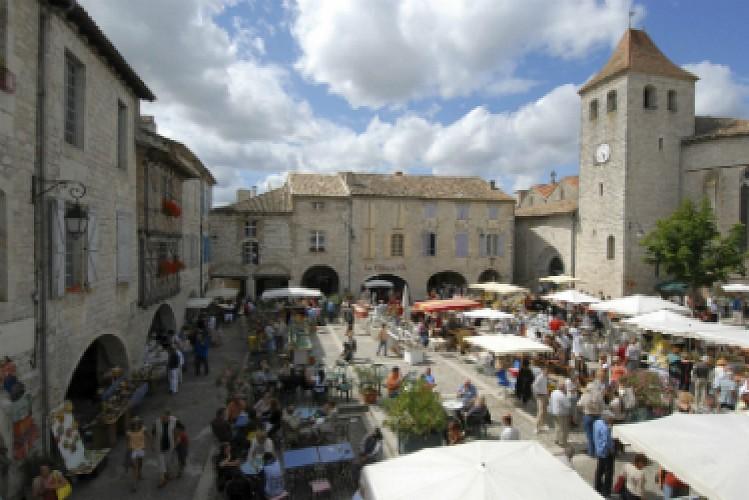 """Itinéraire des 3 """"plus beaux villages de France"""" dans le Tarn-et-Garonne"""