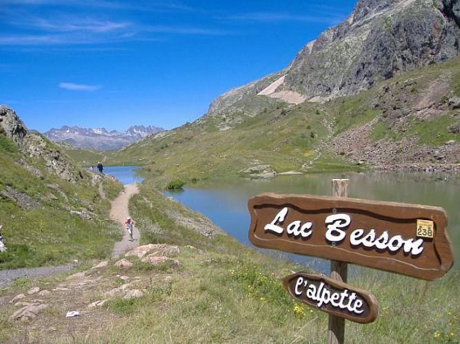 Le tour des lacs de l'Alpe d'Huez