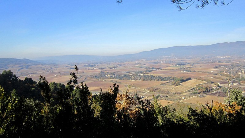 Rando: Paysages d'Ansouis et Villelaure