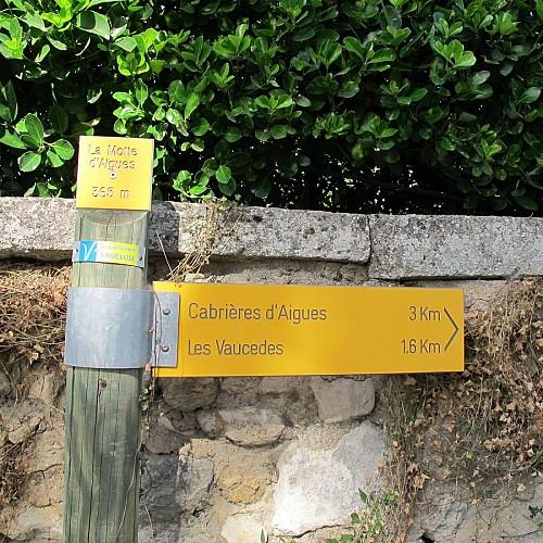 Rando: Les crêtes du Luberon au départ de La Motte d'Aigues