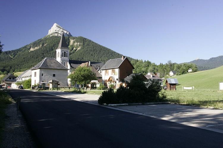 Chamechaude depuis St Hugues de Chartreuse