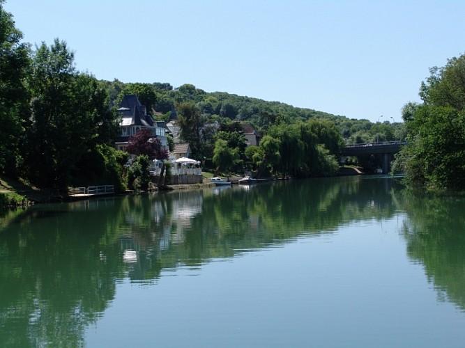 La Marne: des îles en ville
