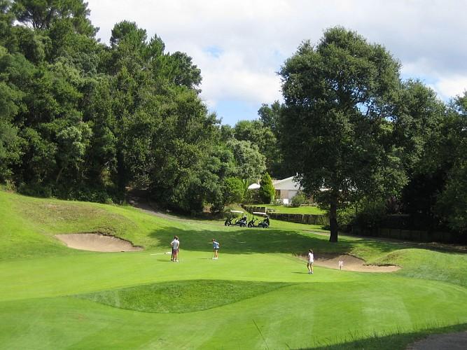 Le circuit jaune du golf