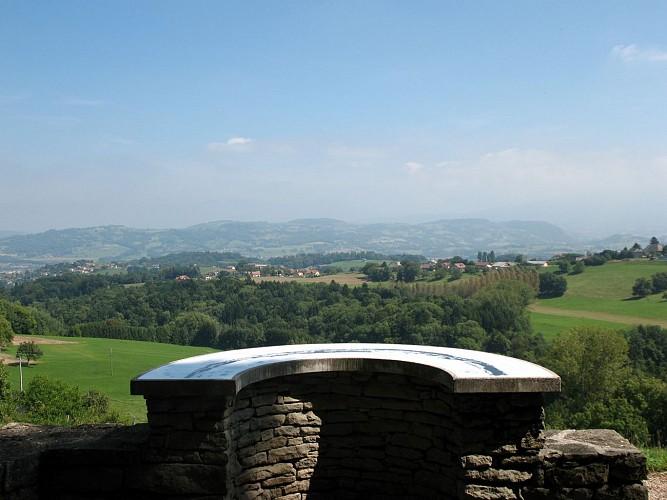 Table d'orientation - Sentier la chapelle de LIgny